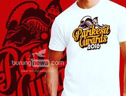design t shirt paling cantik parikesit award order t shirt nya baru afdol burungnews