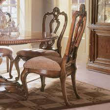 Craigslist San Jose Furniture by Carved Back Side Dining Chair Villa Cortina Dining Chairs