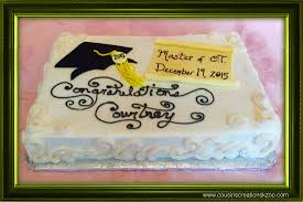 graduation cakes cousin u0027s creations
