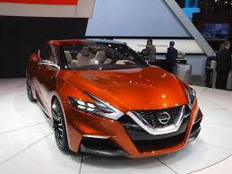 new nissan sports car nissan sports sedan previews the 2015 maxima has attitude in new