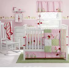 Safari Nursery Bedding Sets by Nursery Cute And Smooth Ladybug Crib Bedding For Sweet Nursery
