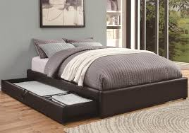 Platform Beds With Storage Underneath - queen bed with storage underneath home design ideas