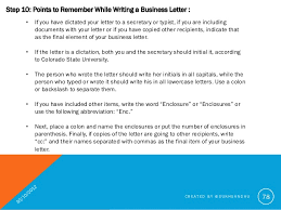 Business Letter Generic Recipient How To Write A Good Business Letter