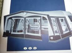 Dorema Porch Awnings Awnings Porches U0026 Annexes For Sale In Suffolk Caravansforsale Co Uk
