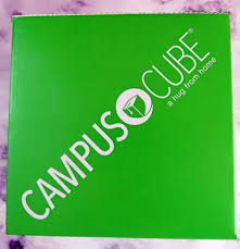 College Care Package Campuscube College Care Package January 2017 Subscription Box