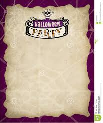 halloween party border royalty free stock photo image 10684905