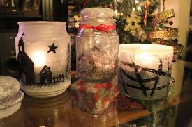 Decorated Jars For Christmas Tutorial Easy Diy Christmas Decor Using Candle Jars Youtube