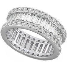 eternity ring baguette eternity ring