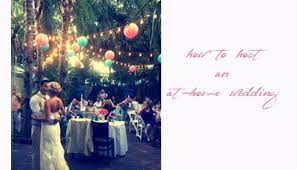 planning at home and backyard weddings here u0027s a step by step