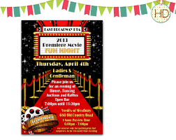party invitations marvelous hollywood party invitations ideas