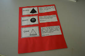 3 Dimensional Shapes Worksheets Cut Fold Tape And Repeat Revised