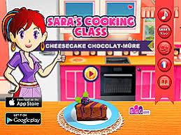 jeux de l ecole de cuisine de cheesecake chocolat mûre école de cuisine de un des jeux