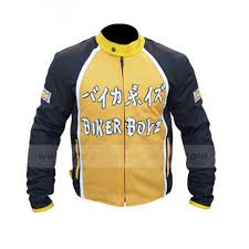 motorcycle biker jacket biker boyz jacket black and yellow motorcycle jacket