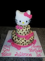 hello kitty cheetah cake cakecentral com