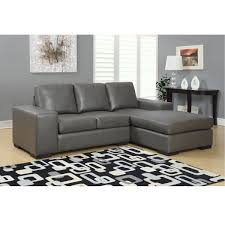 jacob condo sized sectional sofa modern sectional sofas in grey