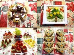 Christmas Party Treats - food decoration idea for kid u0027s christmas party food decoration