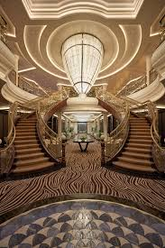 Ship Chandelier All Aboard The World U0027s U0027most Luxurious U0027 Cruise Ship New York Post