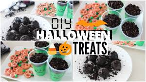 diy last minute halloween treats youtube