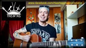 chitarra vasco come nelle favole vasco voce e chitarra