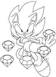sonic and shadow coloring pages sonic coloring pages