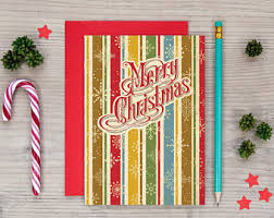 retro christmas cards retro christmas card etsy