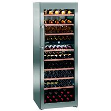 the liebherr 248kwh freestanding dual zone wine cellar