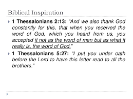is the new testament the word of god