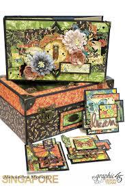 clayguana graphic 45 u0027nature sketchbook u0027 a box with an acrylic