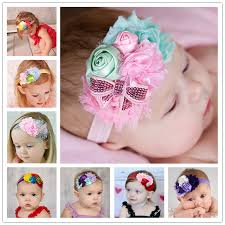 how to make baby flower headbands newborn baby flower headband hair bow hairband sequin hair