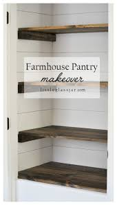 Beadboard 4 Door Pantry by Farmhouse Pantry Makeover