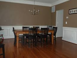 Colored Laminate Flooring Brown Lacquered Block Board Dining Table Dining Room Paint Colors