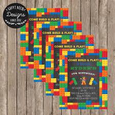 the 25 best lego birthday invitations ideas on pinterest lego