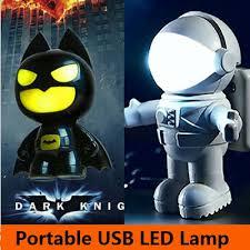 Batman Lights Qoo10 Batman Astronaut Usb Led Light Foldable Lamp Astro Night
