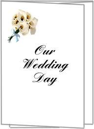 Wedding Programs Trifold Printable Bulk Wedding Invitations