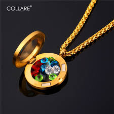 s day locket aliexpress buy collare s day gift floating locket