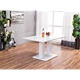 lucido extending central part white lucido extending central part white dining table and 4 chairs