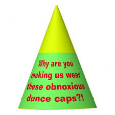 How To Make A Dunce Cap Out Of Paper - dunce hat diy custom hats zazzle