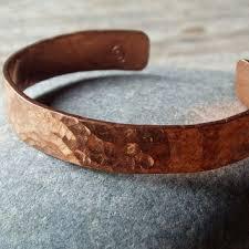 copper bracelet men images Hammered copper cuff artisan hammered copper bracelet for men jpg