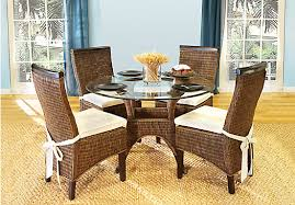 Bamboo Dining Room Chairs Bamboo Dining Room Set Marceladick Com