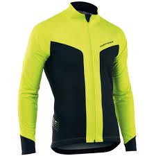 yellow waterproof cycling jacket northwave reload selective protection waterproof road bike cycling