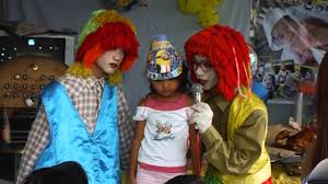 where to rent a clown for a birthday party1860 gown 1st birthday party philippines with clowns pt2 of 3