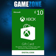 xbox live gift cards microsoft xbox live gift card 10 pounds ebay