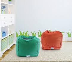 Pouf Ottoman Insert Soft Modern Pouf Cover Ottoman Small Bean Bag Chairs Soft