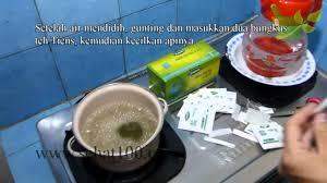 Teh Tiens cara menyeduh teh tiens dengan benar