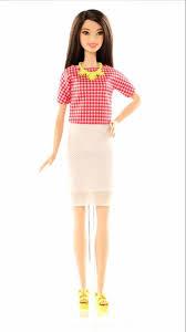 barbie fashionistas doll 30 white u0026 pink pizzazz tall dmf32