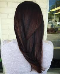 chocolate hair with platinum highlight pictures 60 chocolate brown hair color ideas for brunettes subtle