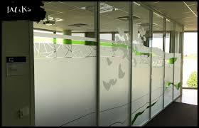 vitrophanie bureau mel et kio vitrophanie sur mesure entreprises bureau salle de