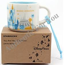 mug ornament disney parks starbucks you are here animal kingdom mug