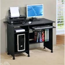Ikea Black Computer Desk Black Computer Desk Modern Black Computer Desk For Your Home