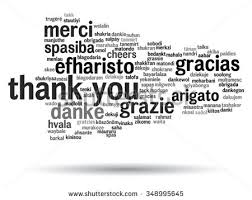 thank you word cloud background all stock vector 693486250